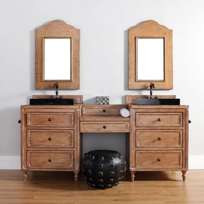 Picture Collection Website James Martin Solid Wood Copper Cove Double Makeup Bathroom Vanity V