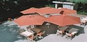 Συστήματα σκίασης εσωτερικού και εξωτερικού χώρου. Ομπρέλες και εφελκούμενες κατασκευές  http://www.assimakopoulos.gr