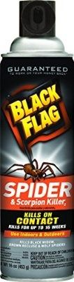 nice Black Flag Spider and Scorpion Killer Aerosol Spray, 16-Ounce - For Sale Check more at http://shipperscentral.com/wp/product/black-flag-spider-and-scorpion-killer-aerosol-spray-16-ounce-for-sale/