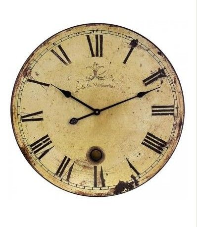 Oversized Wall Clock from Home Decorators Collection.  For a beautiful and functional display piece, this wall clock is perfect.  Get your rebate from RebateGiant.