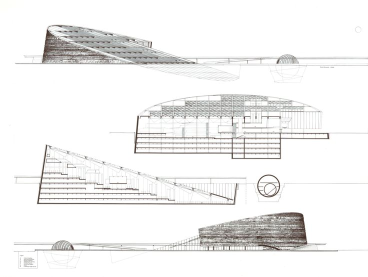 92 best section drawings images on pinterest for Best architects today