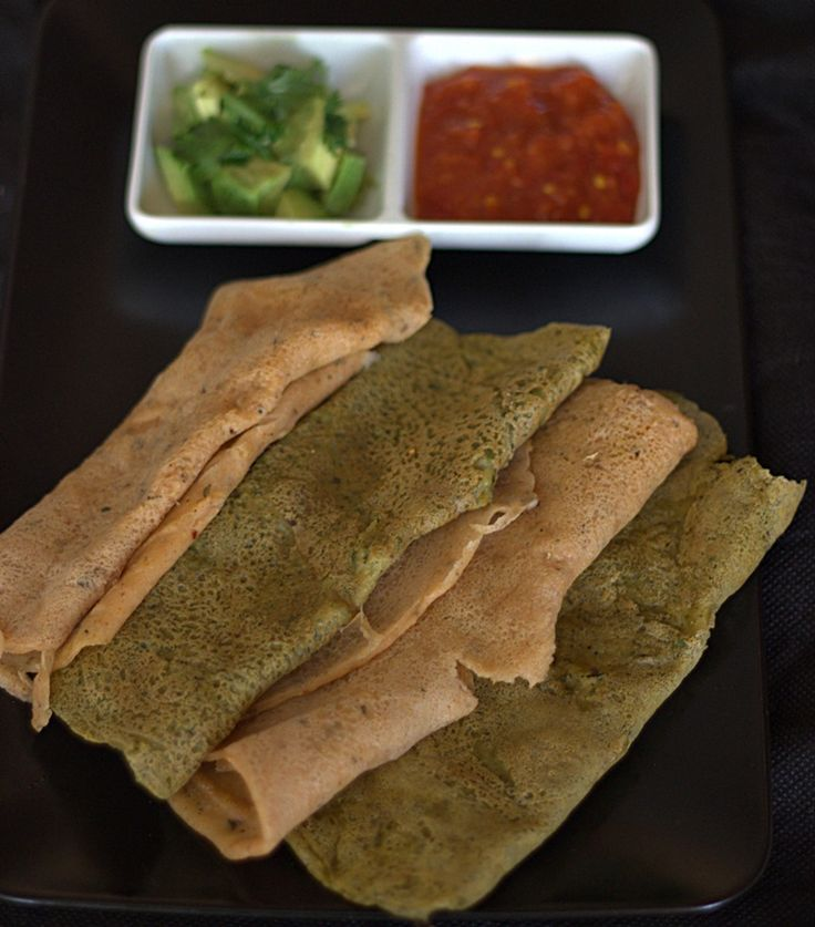 Indian dosa lentil and rice crepes . These fermented crepes are so easy to make:)