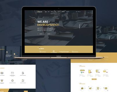 """Check out this @Behance project: """"Mageside - Responsive website"""" https://www.behance.net/gallery/48483755/Mageside-Responsive-website"""