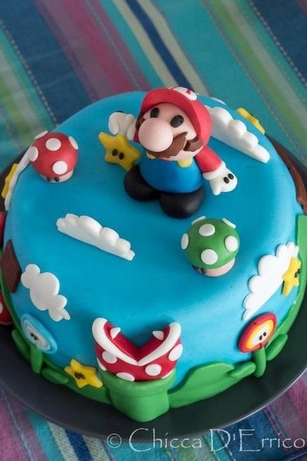 Another super mario....  Cake by AliceInSugarland