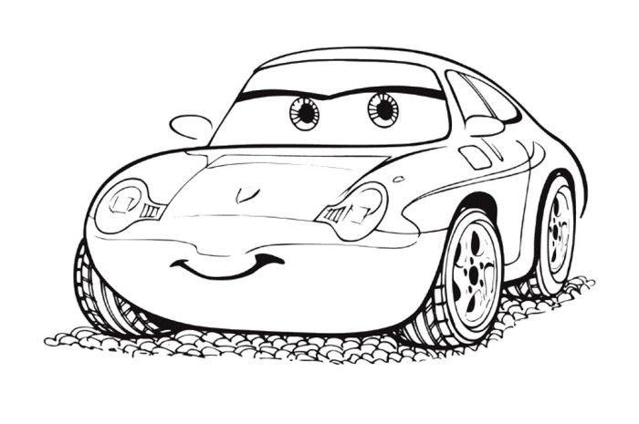 pixar movie cars coloring pages - photo#28