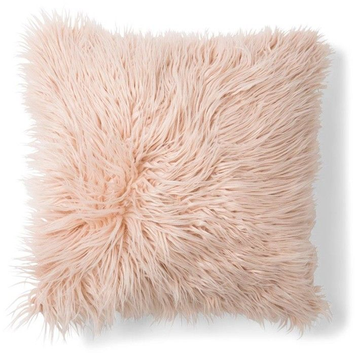 Zsa Zsa Faux Fur Cushion - Pink | Kmart