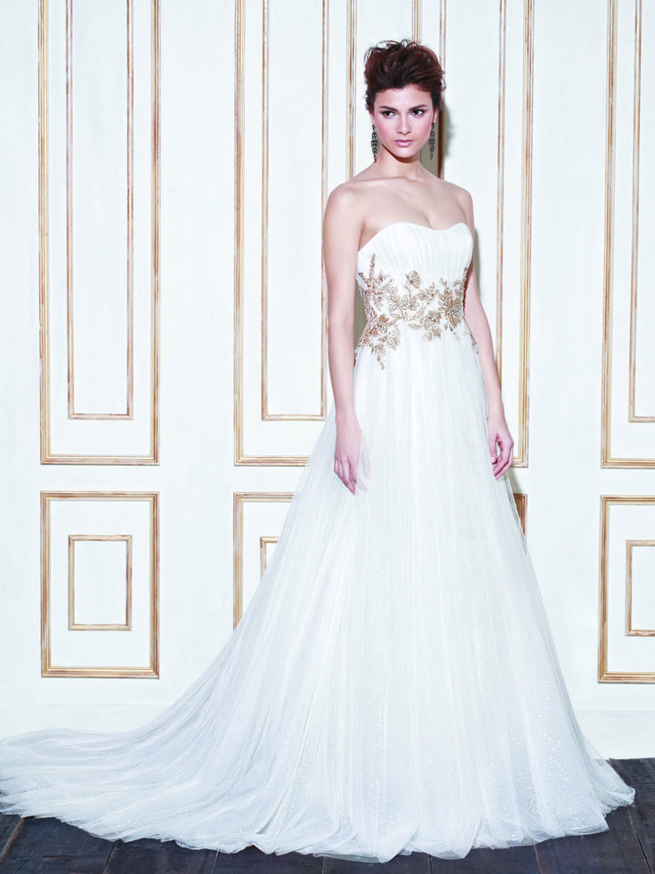 Enzoani Backless Wedding Dress