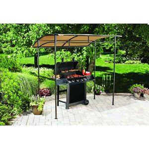 Mainstays Curved Grill Shelter Backyard And Yards