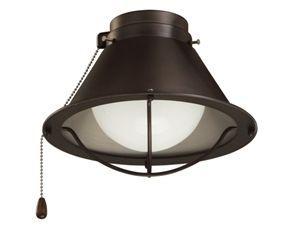 Seaside 1-Light Globe Ceiling Fan Light Kit