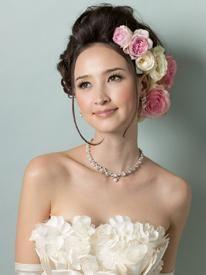 すてき♡マーメイドドレス・スレンダードレスにオススメの髪型・ポンパドールの参考一覧❤