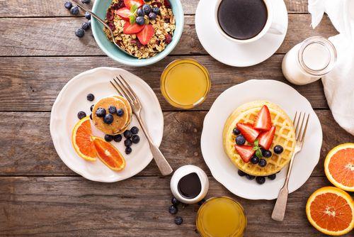 パンケーキにガレット週末はおしゃれ朝食作りで1日をスタート