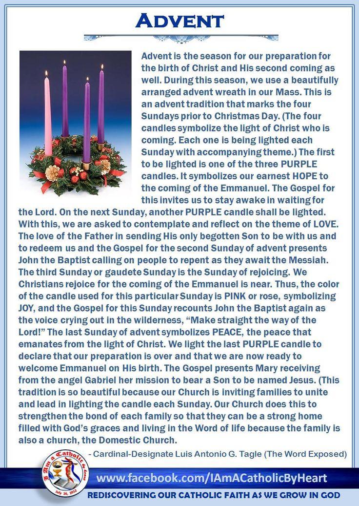 25+ best ideas about Catholic advent wreath on Pinterest   Advent ...