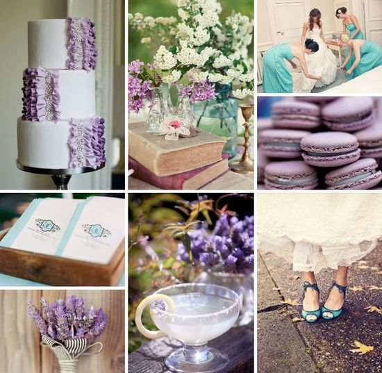 76 best Mint/Aqua Blue and Lavender Wedding Ideas images on ...