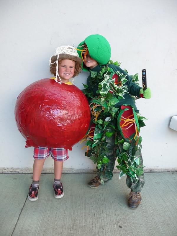 venus fly trap meatball - Judy Moody Halloween Costume