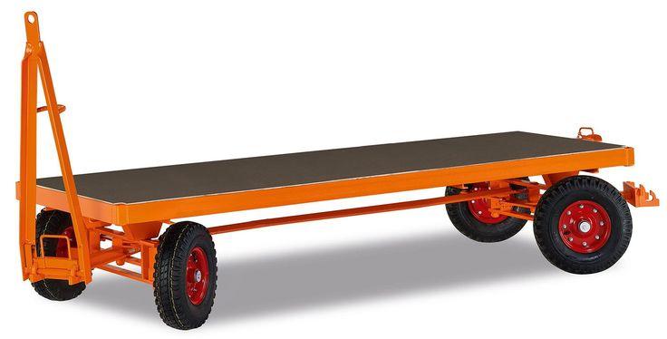 GTARDO.DE:  Industrieanhänger 4-Achs-Drehschemellenkung, Tragkraft 3000 kg, Ladefläche 3000 x 1500 mm, Rad 460 x 140 mm 2 684,00 €