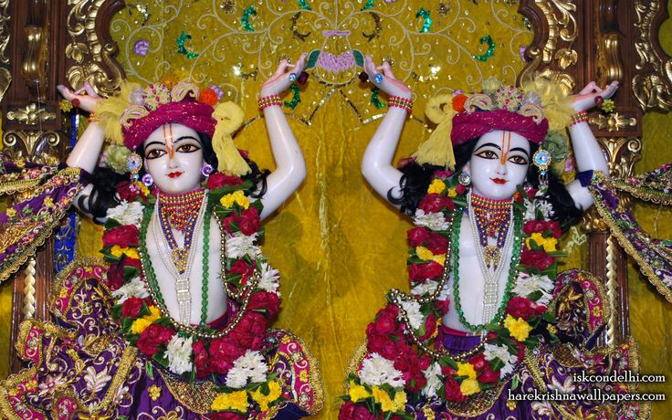 To view Gaura Nitai Close Up Wallpaper of ISKCON Dellhi in difference sizes visit - http://harekrishnawallpapers.com/sri-sri-gaura-nitai-close-up-iskcon-delhi-wallpaper-002/