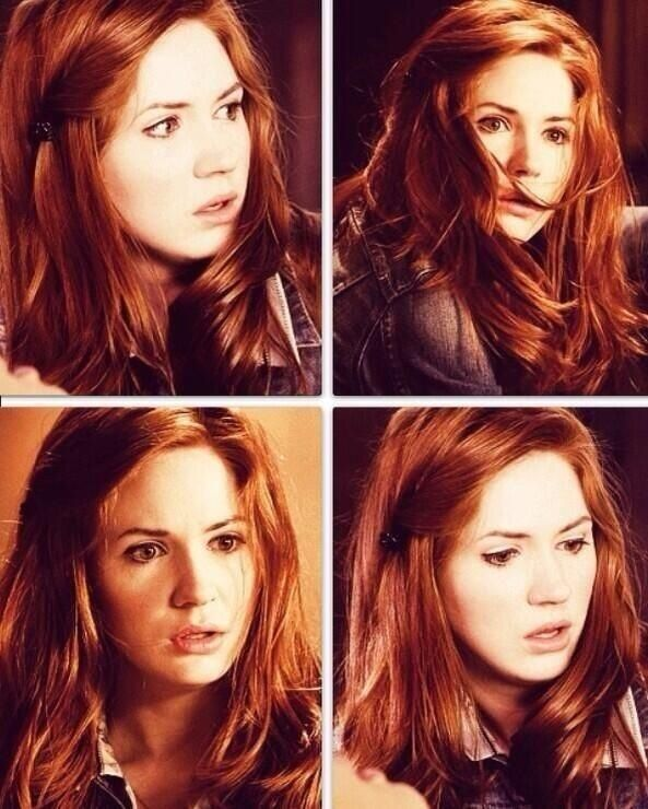 Amy Pond hair grid. Totally wearing some of these.