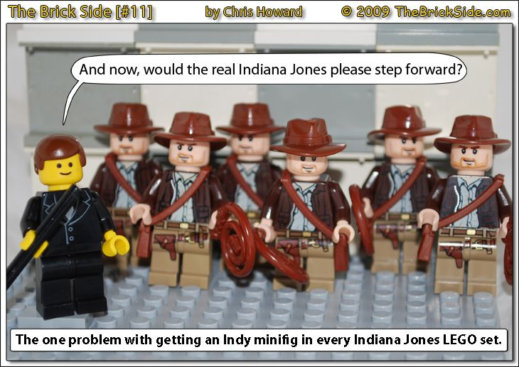 The Brick Side #0011 — Would the real Indiana Jones please step forward?