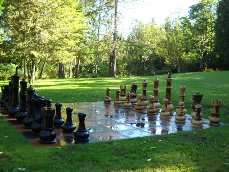 Giant Chess Board, Created By Megan Stoll, Circa 2010, For Rose Avenue  Client