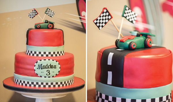 Dashing Vintage Car Birthday Party