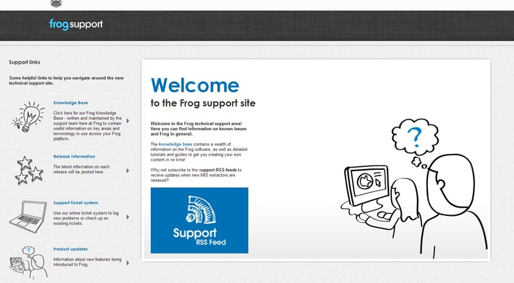 ... you creating your own content in no time! (Frog VLE login required