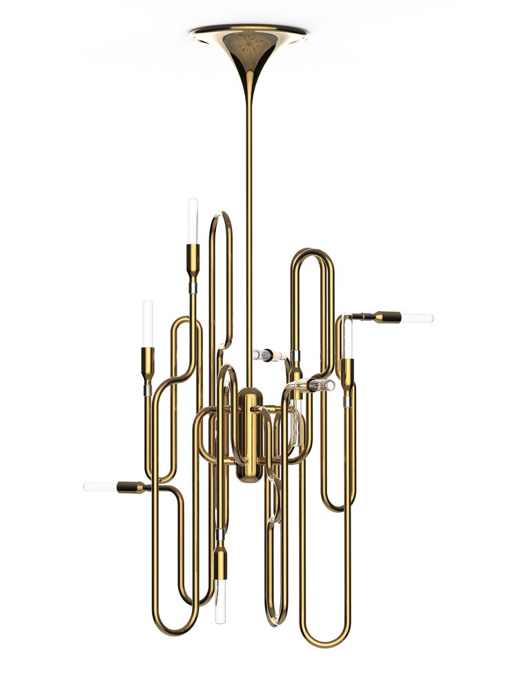 We can't stop loving the trumpet lamp from andtradition. Please be under our Christmas tree...
