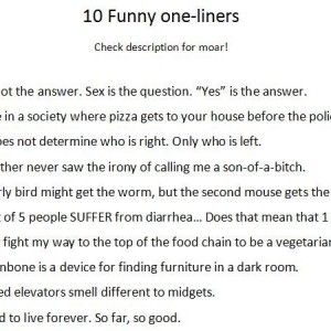 The Best Jokes