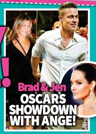 "Jennifer Aniston, Brad Pitt Going Public As ""Reunited Couple"" At Oscars?"