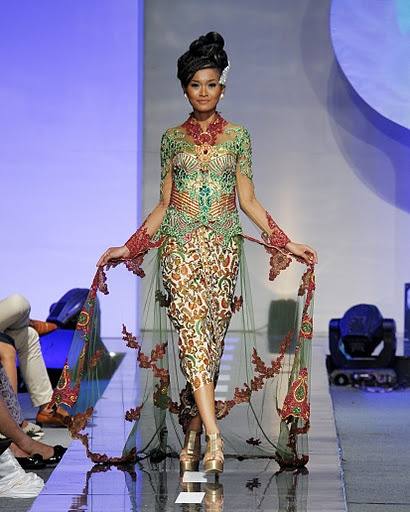 Modern Couture Kebaya...Staying true to my Indo roots...