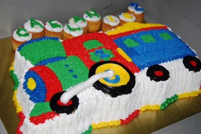Cake With Train Design : 11 best images about Danny s Birthday Ideas on Pinterest ...