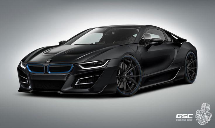 GSC BMW i8: тюнинг программа i8 iTRON понравился профиль автомобиля