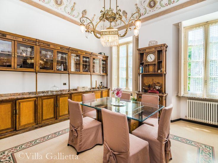 Breakfast room - Villa Gallietta   Como #lakecomoville