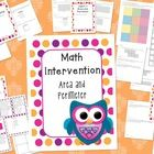 This 4th grade area and perimeter intervention pack is to help with your in-class math intervention. Having a plan and materials is essential to he...