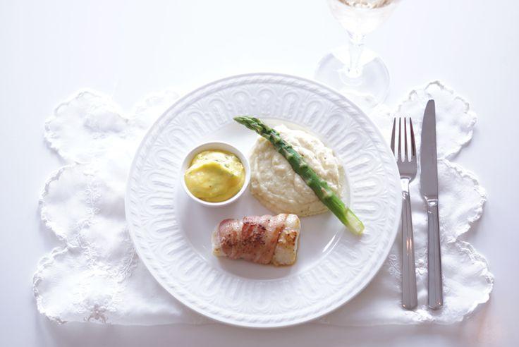Stuffed Cod Wrapped In Bacon Recipe — Dishmaps