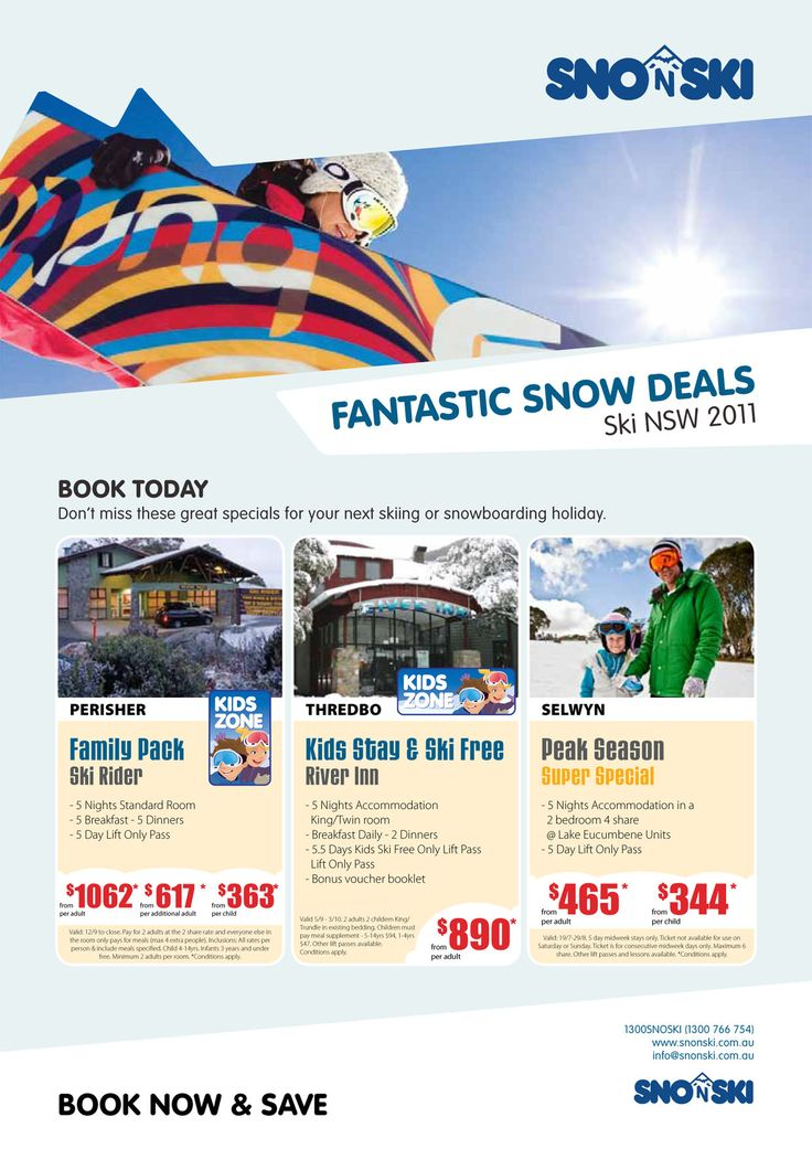 Image result for advertising for nsw snow holiday