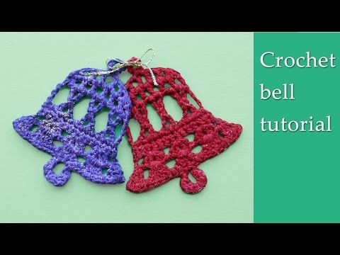 Crochet bell tutorial - Knit & Crochet Christmas