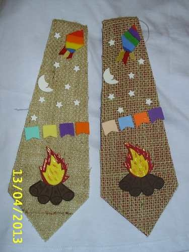 Gravatas Para Festa Junina / Caipira -  /     Ties for June Party / Hillbilly -