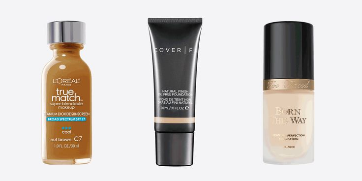 Best Foundations for Oily Skin - Best Water Based Foundations