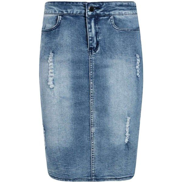 89 best Denim skirts images on Pinterest