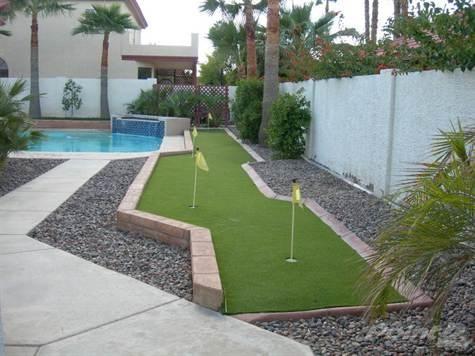 Mini golf in the back yard...I think so!