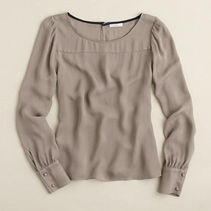 Talitha blouse / J. Crew / $74.99
