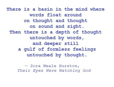 a literary analysis of their eyes were watching god by zora hurston