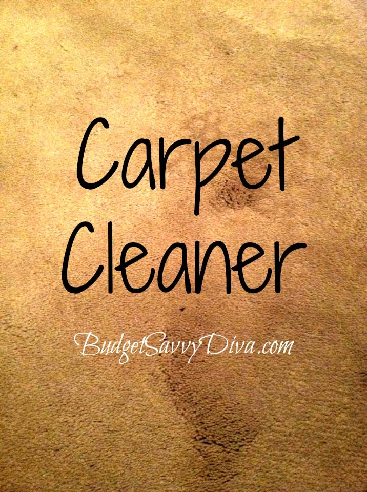 Remove Carpet Stains! Dampen your stained carpet and be ready for the stain to be gone! Add a sprinkle of baking soda and let it sit for 10 minutes. After the 10 minutes is up spray with a mixture of 1 tablespoon Dawn, 1 tablespoon of vinegar, and 2 cups of water. Scrub, vacuum, enjoy!! -- This Certainly will Help in a Jam when you have no resolve!