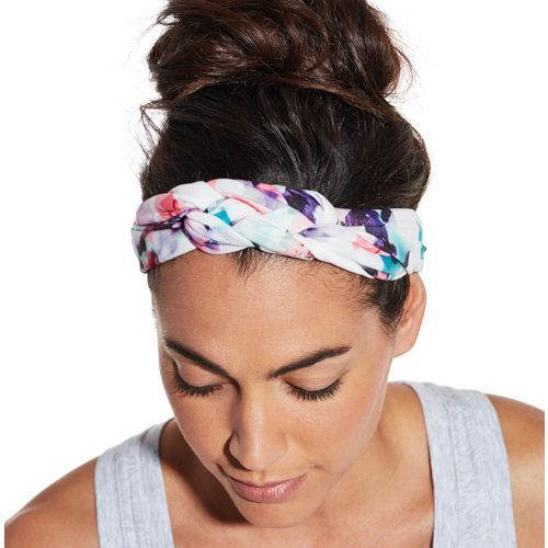 Give your fitness look a boost with the CALIA™ by Carrie Underwood Women's Braided Front Headband. This soft, stretchy headband is the perfect way to comfortably keep your look in place. An elastic back band stretches for a secure fit around your head, while a braided front design adds unique feminine style to your look. Perfect for everyday wear, make the CALIA™ Braided Front Headband your go-to hair accessory.