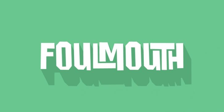 Foulmouth Font Download | Fonts | Fonts, Logos, Company logo