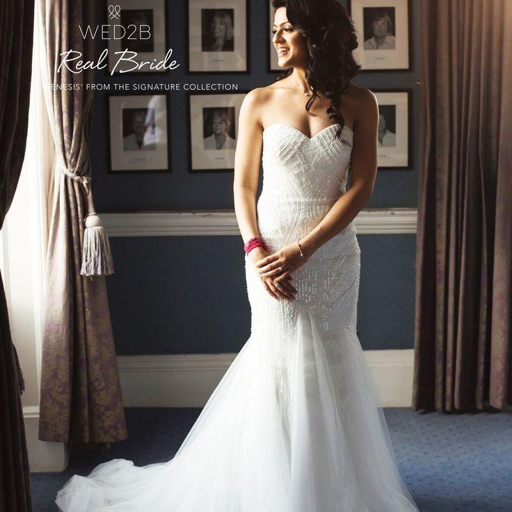Real Brides Wed2b: Real Bride Saveena Looks Beautiful In 'Genesis' Designed