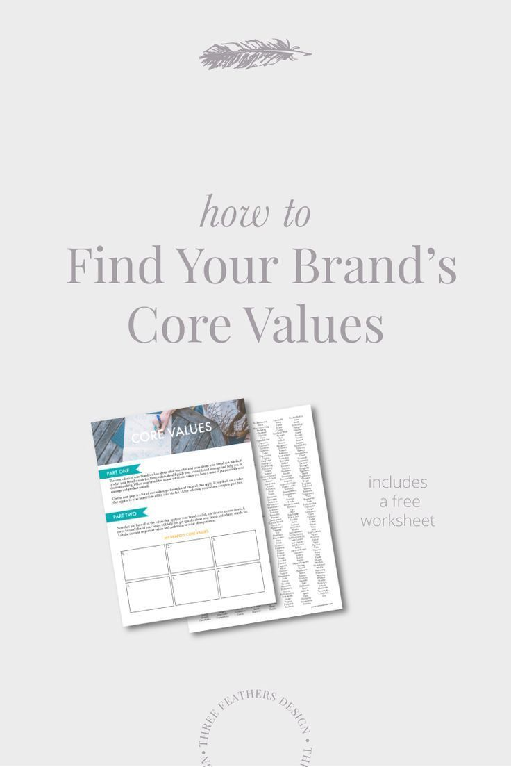 How To Find Your Brand Core Values Branding Your Business Core Values Business Branding