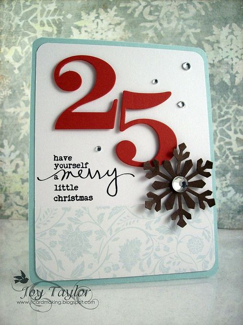 Inspired By Kristina Werner! october 25, 2011 by joy taylor | martha stewart snowflake punch, PTI number dies