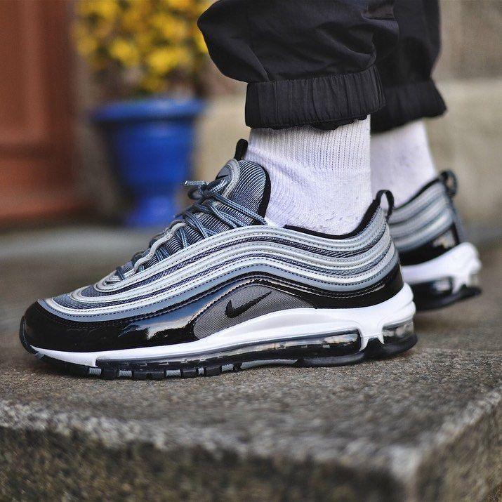 Nike Air Max 97 Grey Black | Men's Sneakers | Chaussure