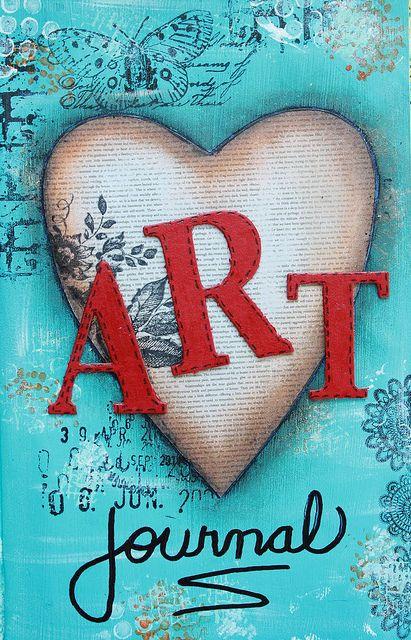 ~ ART JOURNAL ~ FABULOUS (made by Black Pearl Princess).